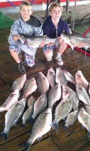 Lake Tawakoni Spring Break Fishing